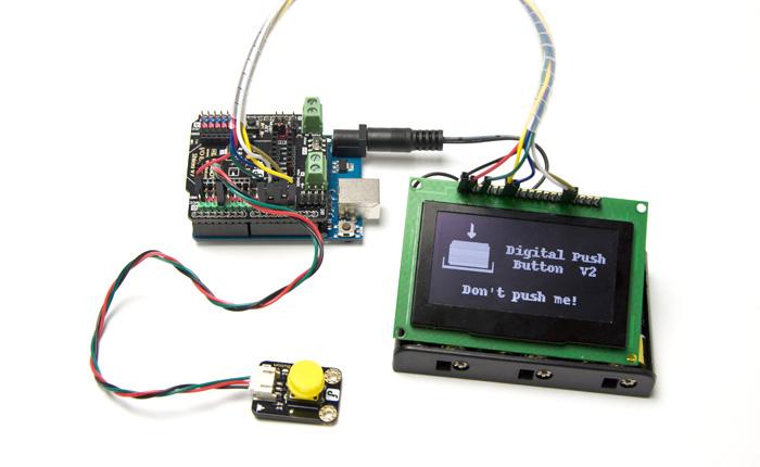 数字大按钮模块应用示例