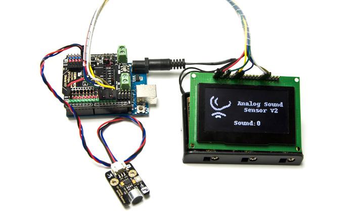 Gravity: 模拟声音传感器应用示例