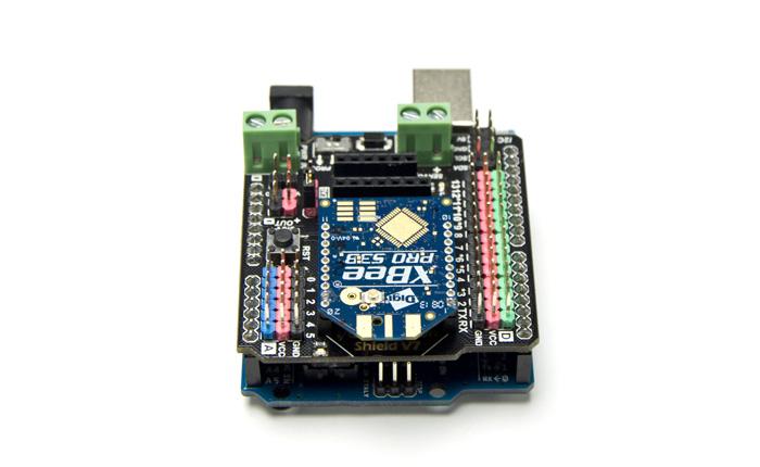 Arduino  IO传感器扩展板使用示例