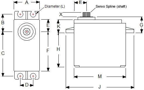 舵机控制电路图