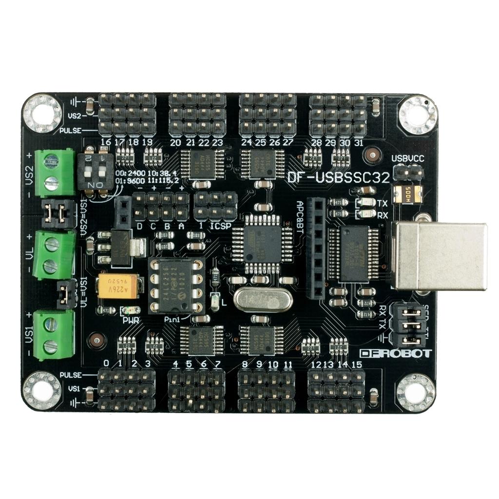 usb版32路舵机控制板_伺服电机驱动器