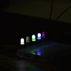 5毫米 柔光LED包 50只(多色)