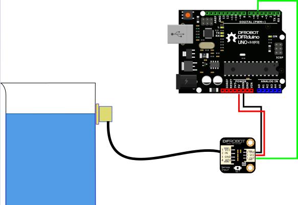 非接触式传感器_智能非接触式液位传感器_液体传感器_传感器模组_传感器_DFRobot创 ...