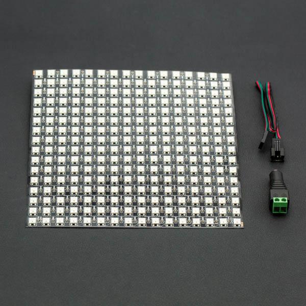 16x16 rgb全彩led柔性点阵屏