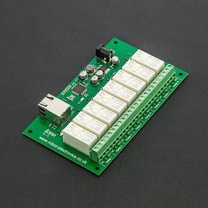继电器-以太网8路继电器控制器 (英国原装进口 )