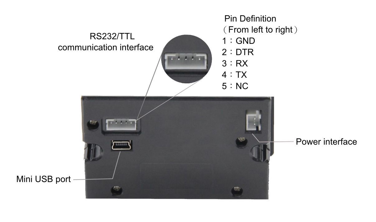 Embedded Thermal Printer - TTL Serial Communication Interface